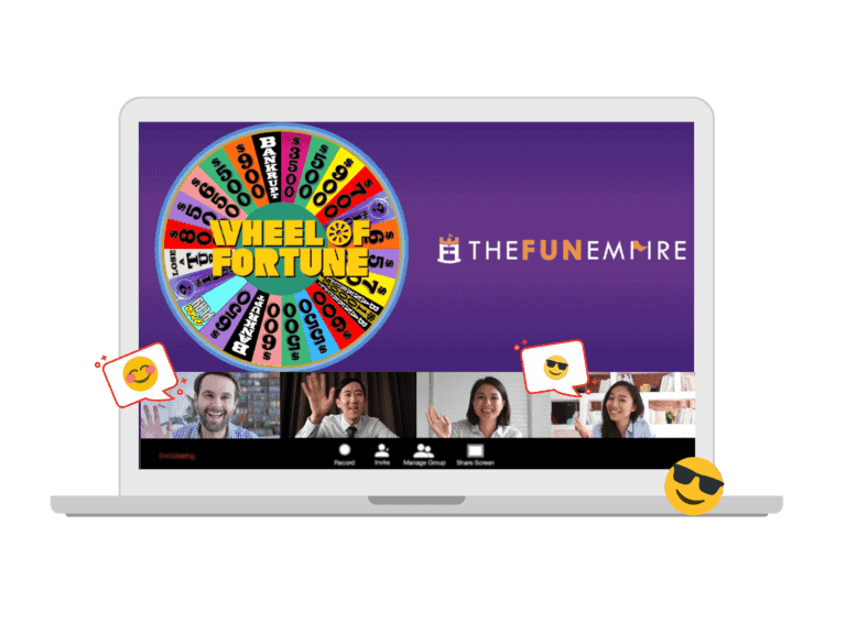 Virtual Game Show for Team Building